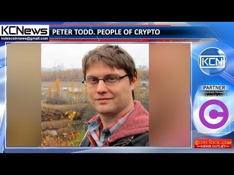 People of crypto - Peter Todd