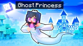 Haunting As The GHOST Princess In Minecraft!
