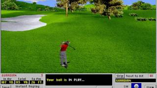 Links LS: Championship Course - Pelican Hill Golf Club (Access) (MS-DOS) [1996] [PC Longplay]