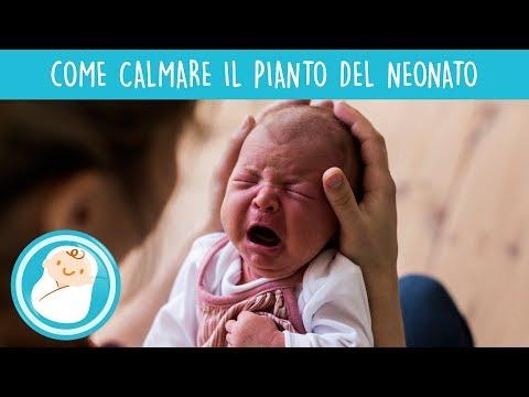 Calmare il pianto del neonato: ecco come fare