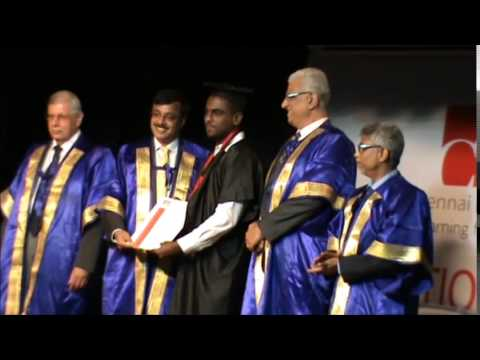 Chennai Business School 8th Convocation