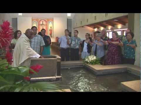 Catholic Hawaii - One ʻOhana Sacrament Series: Baptism Trailer