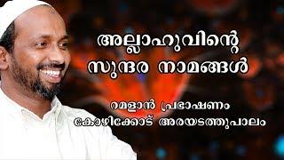 അല്ലാഹുവിന്റെ സുന്ദരനാമങ്ങൾ | ramalan speech 2011 | rahmathulla qasimi