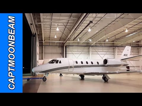Flying the Cessna Citation XLS, Eagle Colorado Takeoff with ATC, Pilot Vlog 125