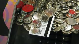 🌟  WINNING Game Card MONEY on a Coin Pusher! | How to Win BIG | Coin Pusher  🌟