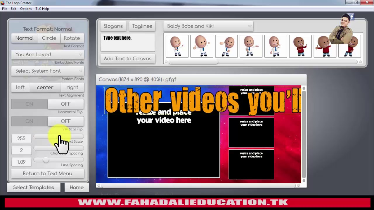 Video Thumbnails Maker (Introduced Thumbnail Making Software) Urdu/Hindi  2017