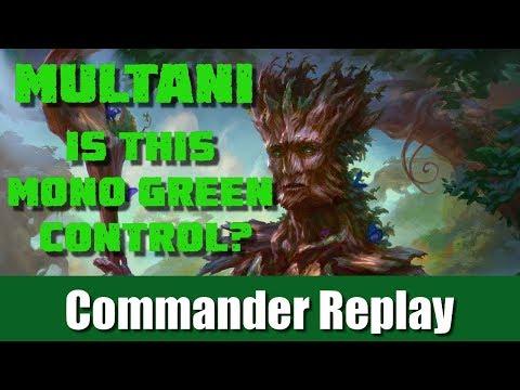 Multani Yavimaya's Avatar: Is This Green Control vs Yidris, Ghave, Omnath
