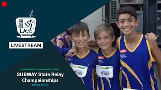 🔴 2018 SUBWAY State Relay Championships - Morning Session  // LAVicTV