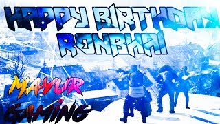 Happy Bday RON BHAI 6th AUG | PUBG MOBILE | SUBSCRIBE ND JOIN ME