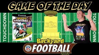 Game Of The Day - Backyard Football (Gamecube)