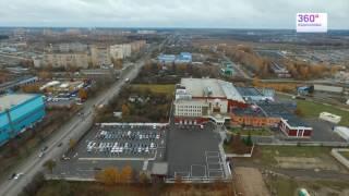 """Аэросъемка фабрики """"Коркунов"""", компании Марс"""