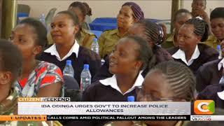Ida Odinga urges government to increase police allowances