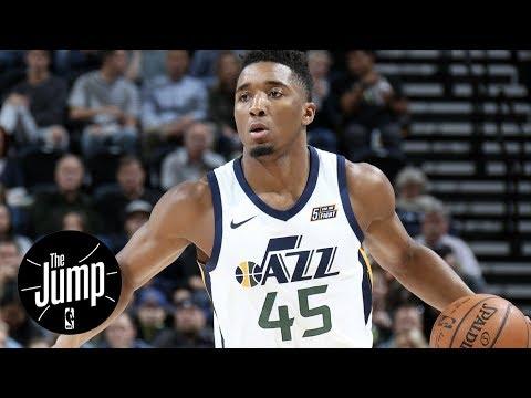 The Jump makes Jazz-Thunder predictions; Will Thunder break Jazz's win streak? | The Jump | ESPN
