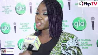 MERCY JOHNSON  TELLS WHY SHE IS  SCANDAL FREE AT GLO MEGA MUSIC TOUR
