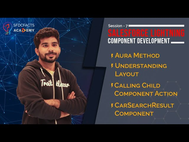 Aura Methods in Lightning Component | Parent to Child Communication | Understanding Layouts - Day 7