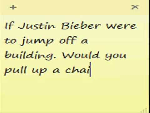 Justin Bieber Committing Suicide?