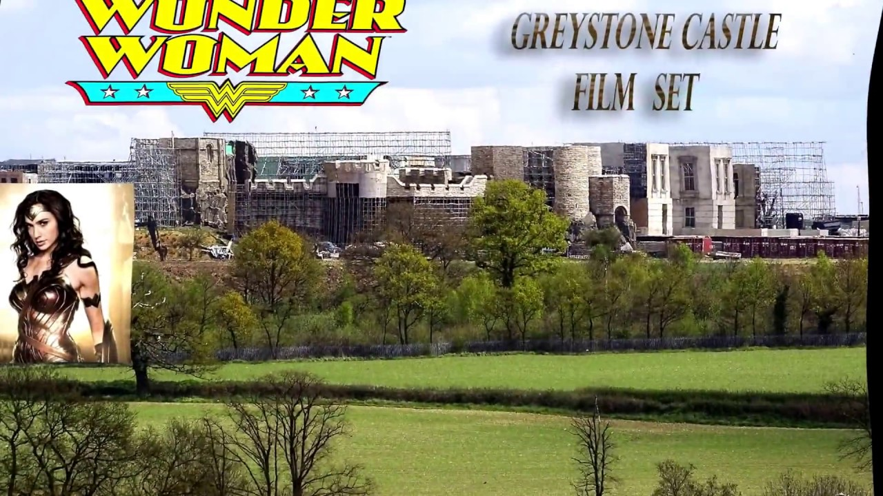 Wonder Woman Movie Film Set at Warner Bros Studios HD video