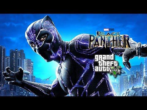 Black Panther 2 : Guardians - (GTA 5 Machinima)