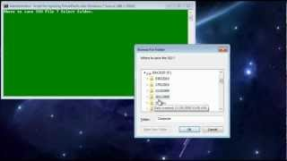 DriverPacks into Windows 7 Source 1.avi