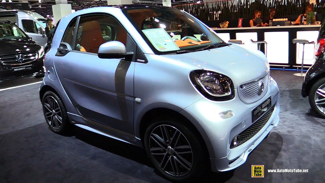 2016 smart brabus tailor made exterior and interior walkaround 2015 frankfurt motor show. Black Bedroom Furniture Sets. Home Design Ideas