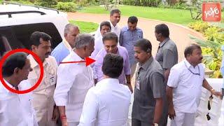 CM KCR Meet AP CM YS Jagan in Vijayawada   KTR Jagan Meeting   Telangana   AP News   YOYO TV Channel