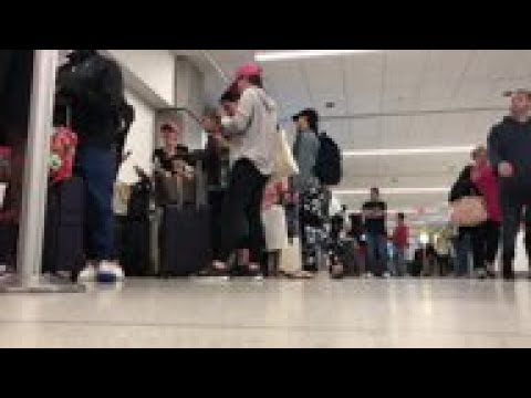 Severe weather disrupts air travel across US