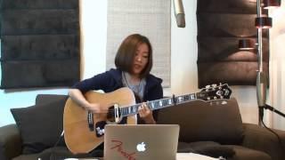2014.4.13 森恵さんのUSTREAMライブより 【Cool Gutar and Lovely Voice...