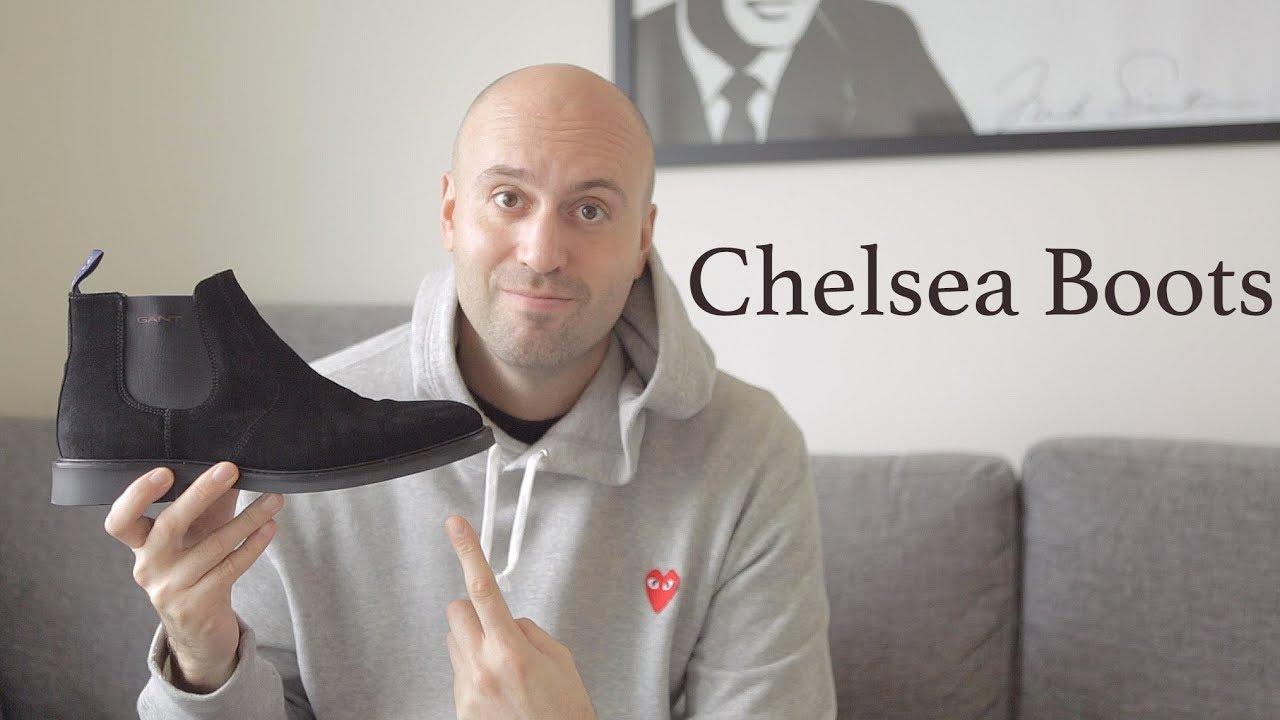 Chelsea Boots Black Suede GANT - Review