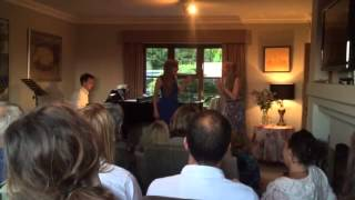 The Cat Duet by Rossini, with Eleanor Nash and Lara Rebekah Harvey