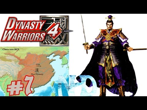 Let's Play Dynasty Warriors 4 Cao Cao (Wei pt7) Tales - Guan Yu's Escape