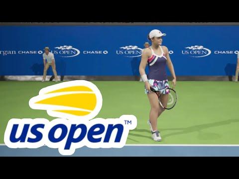 US Open 2019: Wang Qiang vs Ashleigh Barty | AO International Tennis PS4 [no commentary]
