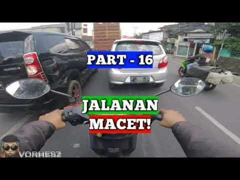 Cara Belajar Motor Matic di Jalan Raya - 16 Jalanan Macet