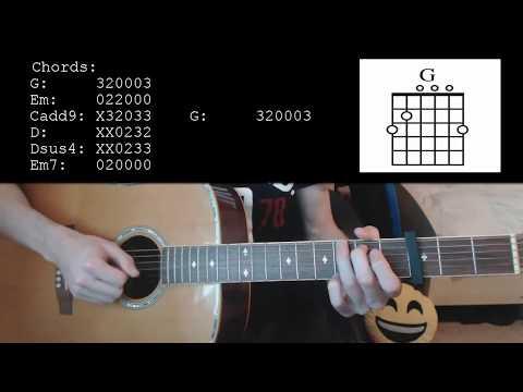 Calum Scott - You Are The Reason EASY Guitar Tutorial
