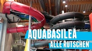 Alle Rutschen im Aquabasilea! || EPIC WATER RIDES at Aquabasilea, Switzerland!