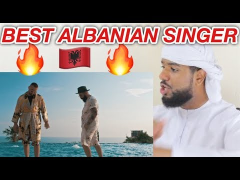 ARAB REACTION TO ALBANIAN MUSIC BY Majk feat. Ghetto Geasy - Paris Milano **BEST VOICE**