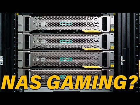 Can You Play Games From A NAS ?
