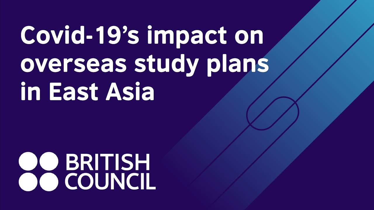 How has Covid-19 influenced overseas study plans in East Asia?