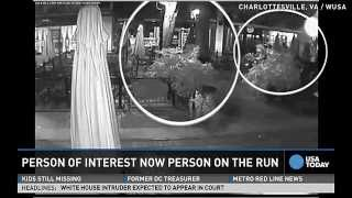 Man seen with UVA student speeds away from police
