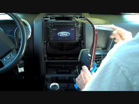 ford explorer stereo removal   youtube