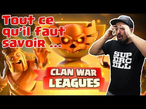 Clash of Clans   CLAN WAR LEAGUE   Ce qu'il faut savoir!!!!!!!