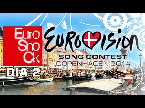 DÍA 2 (4/5/14) - Eurovision 2014 Copenhagen - Euroshock