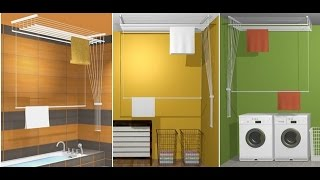 видео Сушилка для белья на балкон: выбираем оптимальный вариант