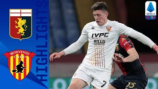 Genoa 2-2 Benevento | Four Goals in the First 21 Minutes in Thrilling Draw! | Serie A TIM