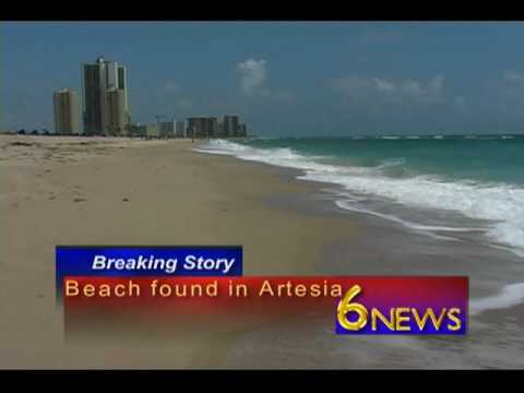 Breaking News Beach Found in Artesia New Mexico
