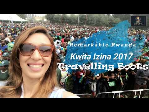 Travelling Boots- Kwita Izina 2017 in Rwanda