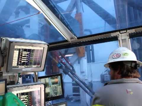 Visiting an Oil & Gas Drilling Rig Control Room
