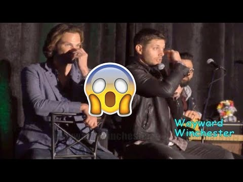 Jensen Ackles Is MORTIFIED As He Almost Took The Eye Of His Stunt Double Out SanFranCon 2017