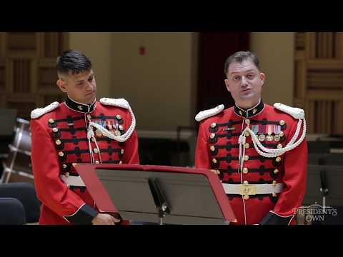 Masterclass: march performance practice with euphoniums of