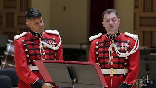 "Masterclass: March Performance Practice with Euphoniums of ""The President's Own"" U.S. Marine Band"