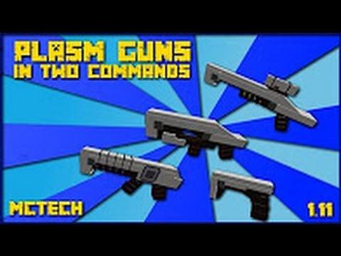 LẤY SÚNG TƯƠNG LAI CHỈ VỚI 2 LỆNH!?!?! – Minecraft 1 Command Block [1.11]